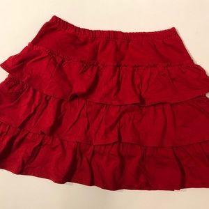 Mini Boden 9–10 heavyweight ruffled skirt
